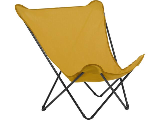 Lafuma Mobilier Pop Up XL - Siège camping - Airlon + Uni orange/noir